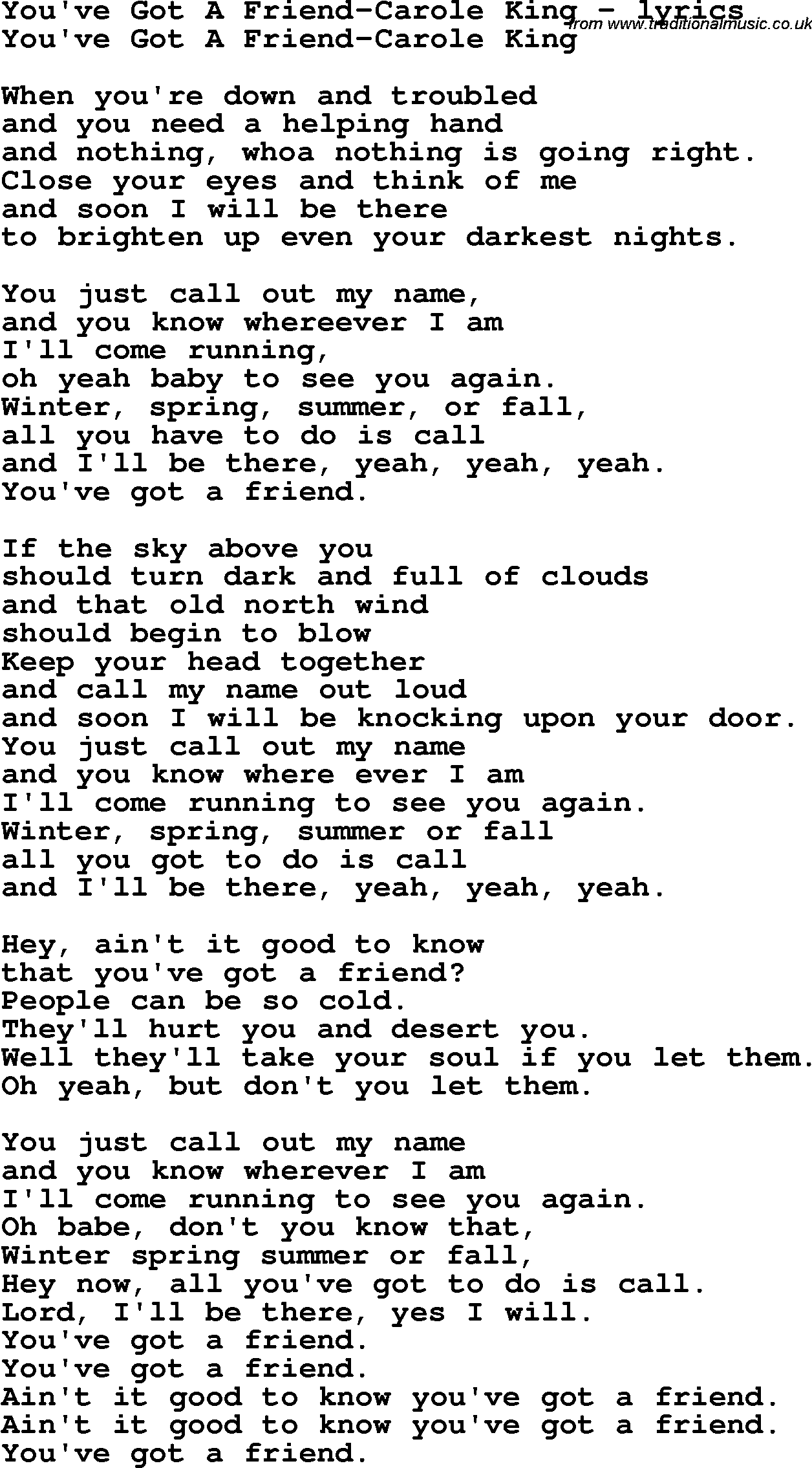 Youve Got A Friend In Me Lyrics And Chords   Sheet and Chords ...