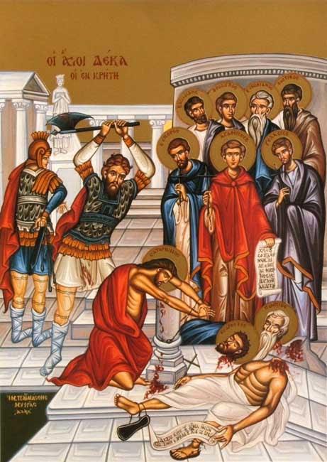 ST. AGATHOPUS, Martyr of Crete
