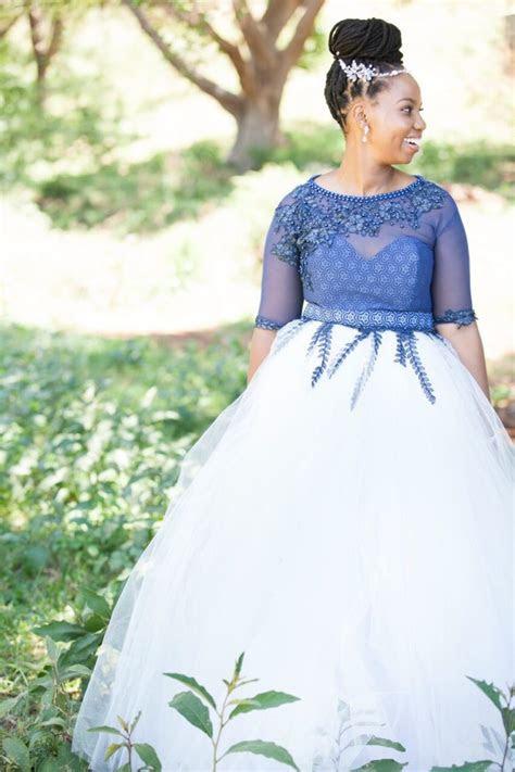 stylish sotho wedding traditional shweshwe