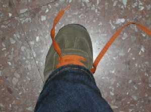 nudo del zapato