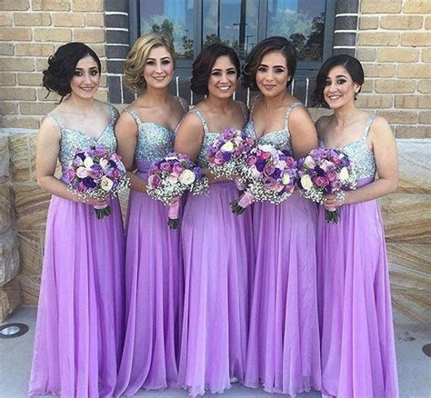 purple and silver wedding ideas 11   Bridesmaid Dresses