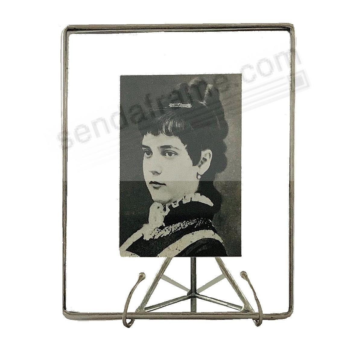 Clear Glass Float Frame 4x53x4 Silver By Bedford Downing Picture