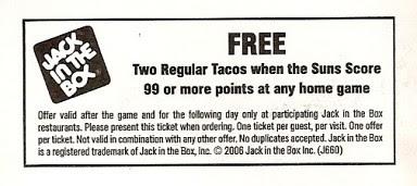 Free tacos Suns