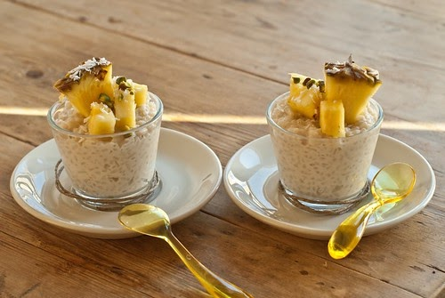 Cook Your Dream: Coconut Rice Pudding with Pineapple