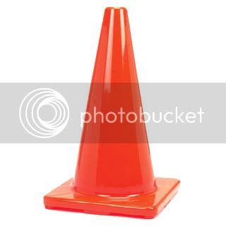 Plastic Cone Orange