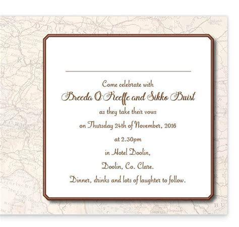 Around The World Folding Wedding Invite   Loving Invitations