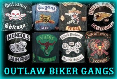 Outlaw Biker Patches Motorcycle Club