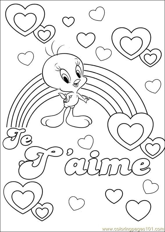 87 Free Printable Coloring Pages Tweety Bird Pictures