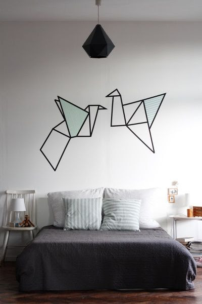 Wandgestaltung: Neues Wandbild im Schlafzimmer