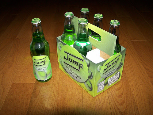 Jump: Natural Flavored Lime Soda