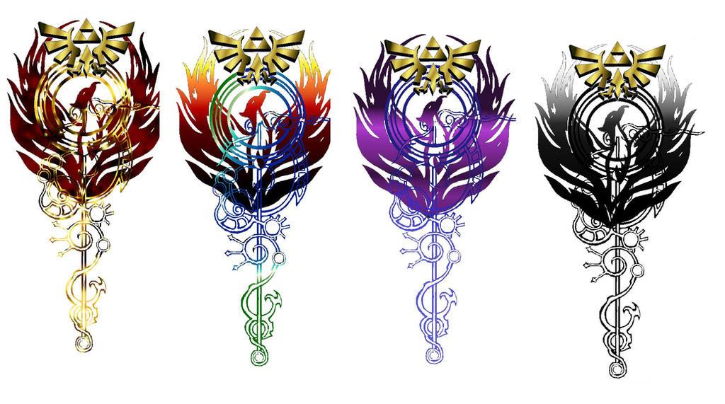 Twilight Princess Triforce Tattoo Traffic Club