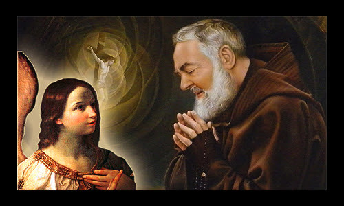 Image result for padre pios guardian angel