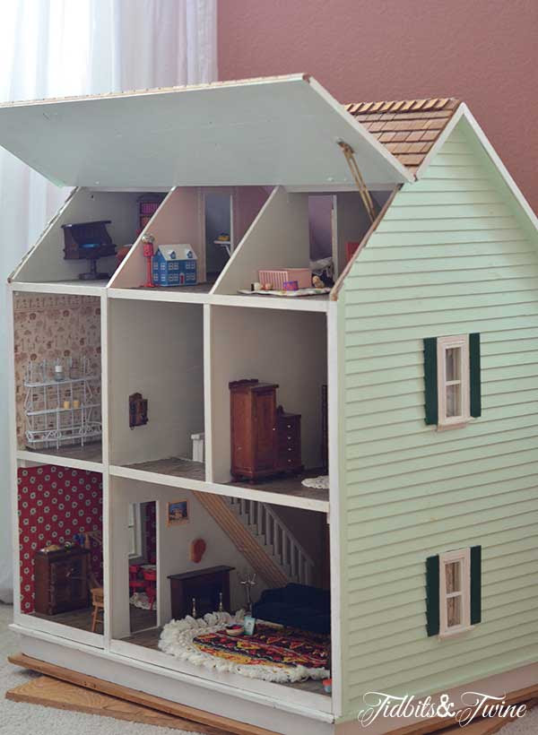 Tidbits&Twine Handmade Dollhouse 5