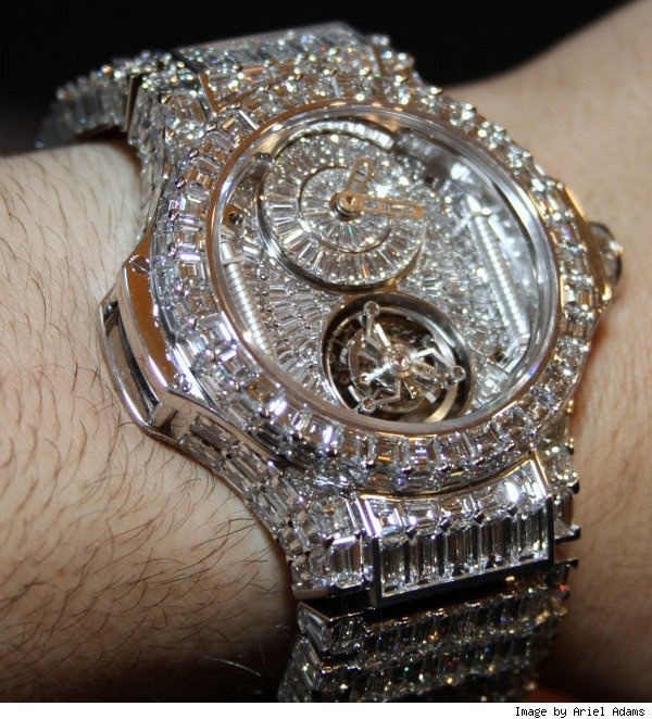Don Burleson Blog: The World's Most Expensive Watch