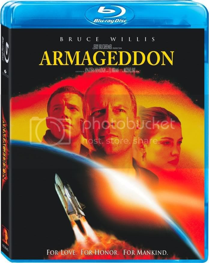 The Armageddon Movie Blu-ray Cover