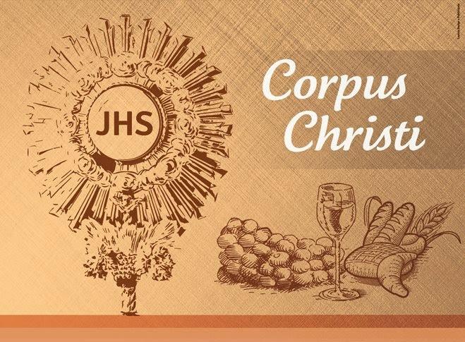 Resultado de imagen para imagen corpus christi
