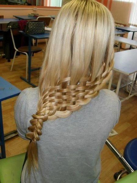 Foto-Foto Gaya dan Bentuk Rambut Kepang