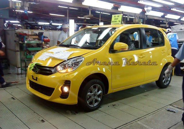 perodua myvi new model 2011. Perodua Myvi 2011 Side