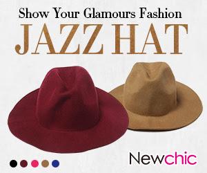 Vintage Women Jazz Hat sku161225