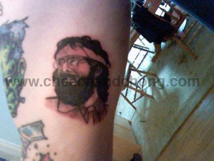 Cheech and chong fan news dave 39 s tommy chong tattoo for Zig zag man tattoo