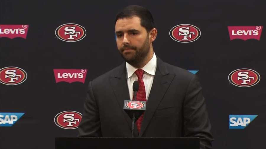 Image result for 49ers Jed York press conference