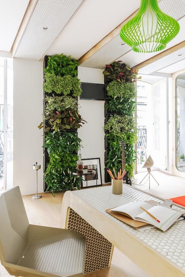 40 Refreshing Indoor Office Garden Installation Ideas