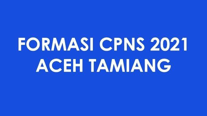 Formasi Cpns Aceh Tamiang 2021 Tenaga Kesehatan Ada 16 Formasi Dokter Dan Puluhan Formasi Perawat Jadwal Dan Syarat Seleksi Cpns Pppk Provinsi Kabupaten Kota Kementerian Formasi Tahun 2021