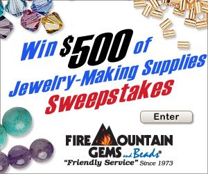 Fire Mountain Gems and Beads Sweepstakes