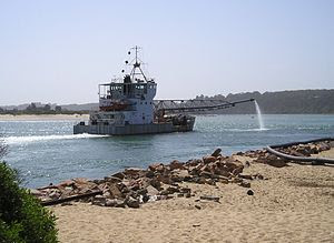 Lakes Entrance Dredger April Hamer