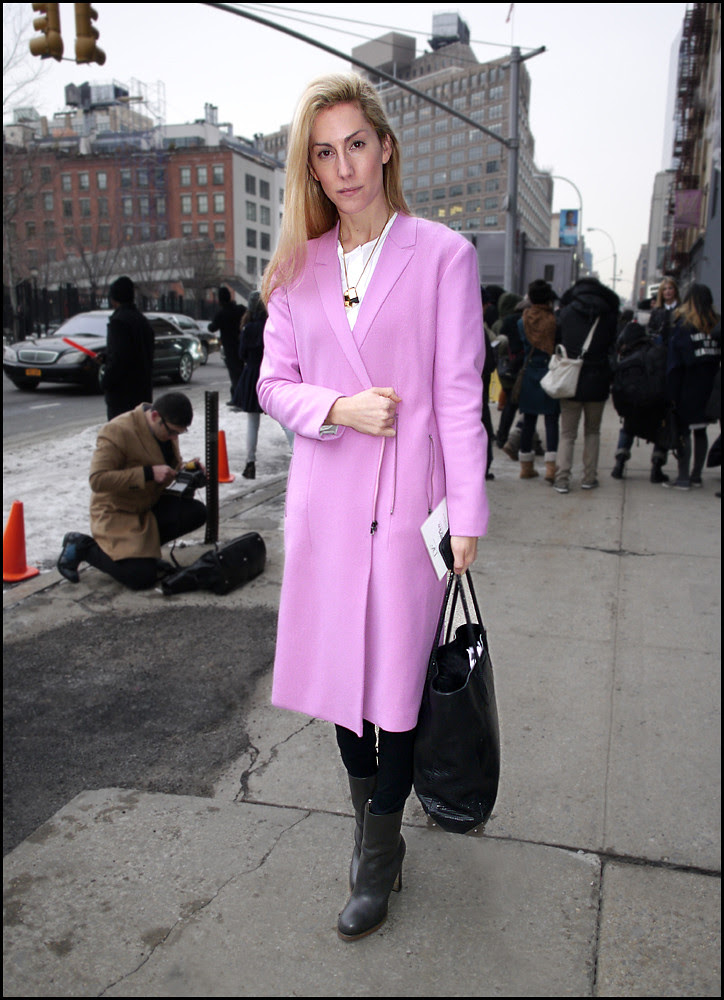 FW 2014-2 -04 Joanna Hillman in pink coat 2 ol
