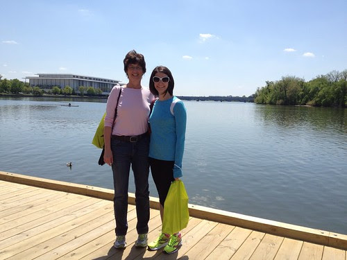 Weekend with my mom