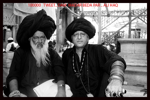 My 100000 Tweet .. Dam Madar Beda Par Ali Haq .. by firoze shakir photographerno1