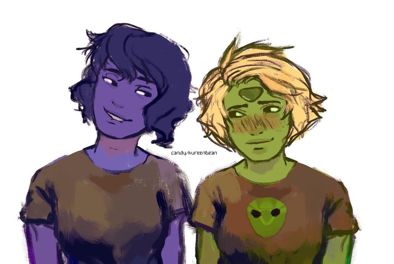 Alien girlfriends.