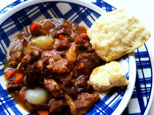 Scone and Lamb Stew