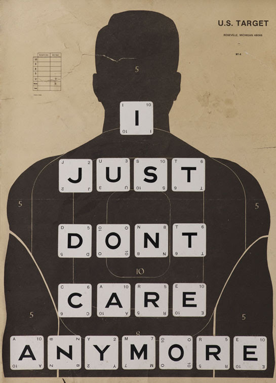 I Just Dont Care Anymore By William Blanchard Aka Wildcat Will