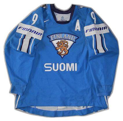 Finland 2008 jersey