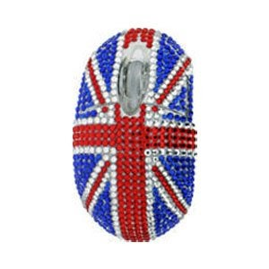 Souris avec le drapeau anglais deco londres for Site deco anglais