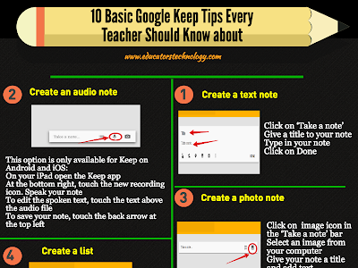 Important Google Keep Features Teachers Should Know about