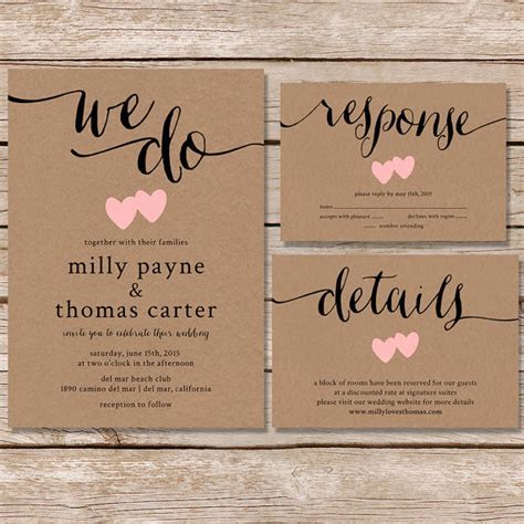 20 Rustic Wedding Invitations Any Bride Will Love