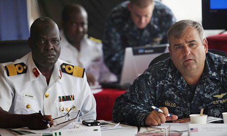 A high-level meeting between the Navies of the United States and Nigeria to discuss cooperation in the waters off the coast of Africa. AFRICOM is carrying out its first full operation against Libya. by Pan-African News Wire File Photos