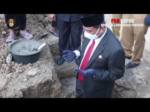 Bupati Wajo MEenghadiri Peletakan Batu Pertama Masjid Ahmad Shubban