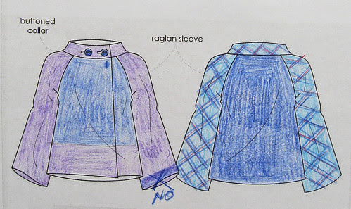 Style Arc jacket sketch 2