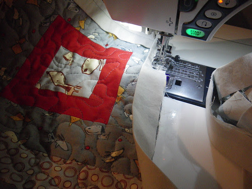 Binding the quilt