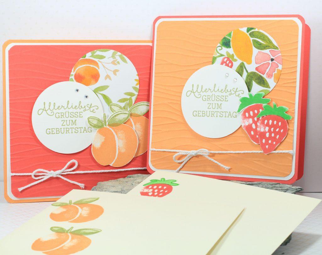 Geburtstag Fresh Fruit Meereswellen Geburtstagsblumen - 3