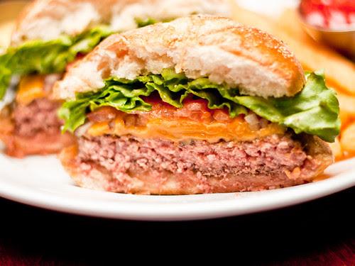 Burger insides