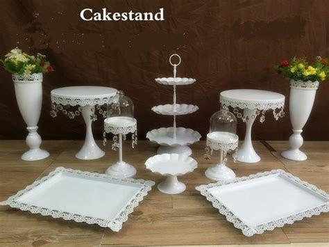 2017 snow white crystal wedding cake stand wedding table