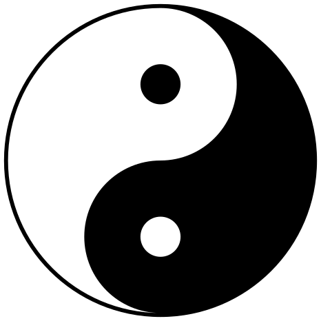 File:Yin yang.svg