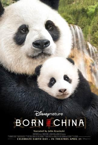 Disney Nature, pandas, Disney movies, 2017 releases