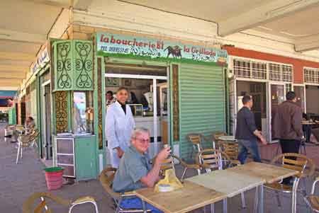 Erfoud, grand sud maroc - restauration locale