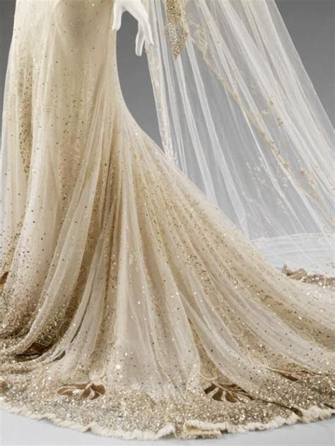 Wedding Dress and veil by John Galliano, worn by Kate Moss